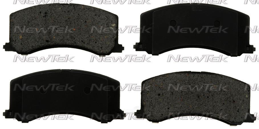 NEWTEK AUTOMOTIVE - Velocity Plus Economy Semi-metallic W/shim Disc Pads - NWT SMD677