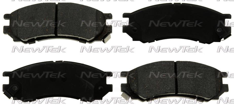 NEWTEK AUTOMOTIVE - Velocity Plus Economy Semi-Metallic w/Shim Disc Pads (Front) - NWT SMD728