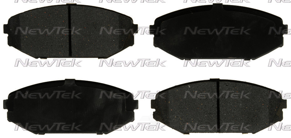 NEWTEK AUTOMOTIVE - Velocity Plus Economy Semi-Metallic w/Shim Disc Pads (Front) - NWT SMD793