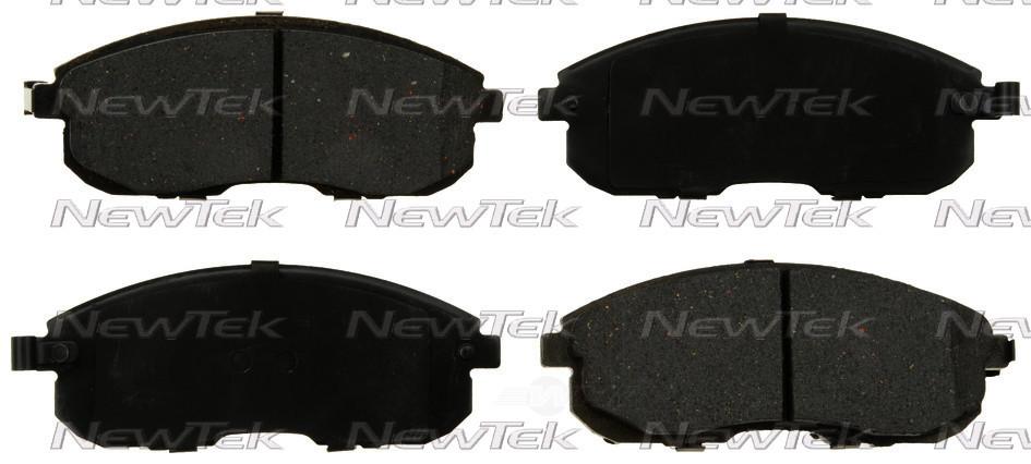 NEWTEK AUTOMOTIVE - Velocity Plus Economy Semi-metallic W/shim Disc Pads - NWT SMD815