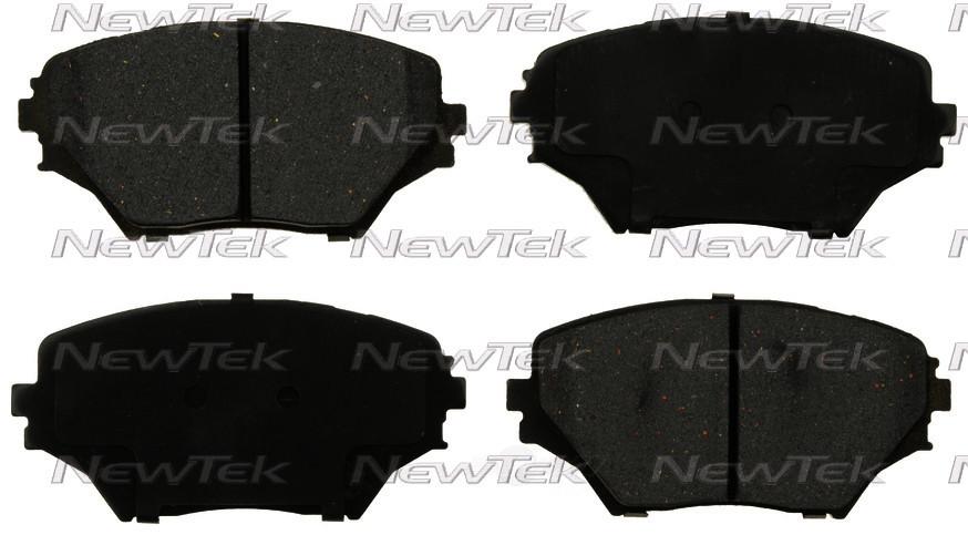 NEWTEK AUTOMOTIVE - Velocity Plus Economy Semi-Metallic w/ Shim Disc Pads - NWT SMD862
