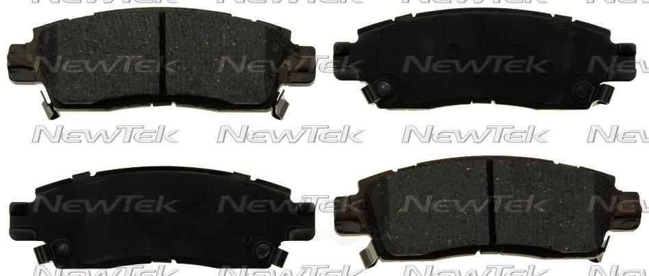 NEWTEK AUTOMOTIVE - Velocity Plus Economy Semi-Metallic w/ Shim Disc Pads - NWT SMD883