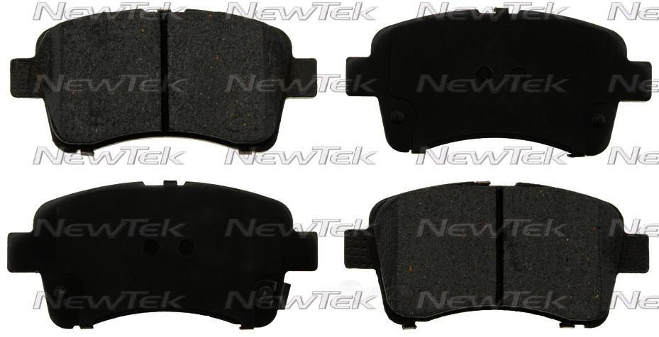 NEWTEK AUTOMOTIVE - Velocity Plus Economy Semi-metallic W/shim Disc Pads - NWT SMD937