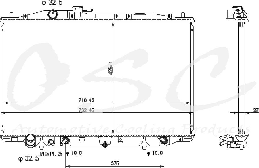 OSC - Radiator - O19 13081