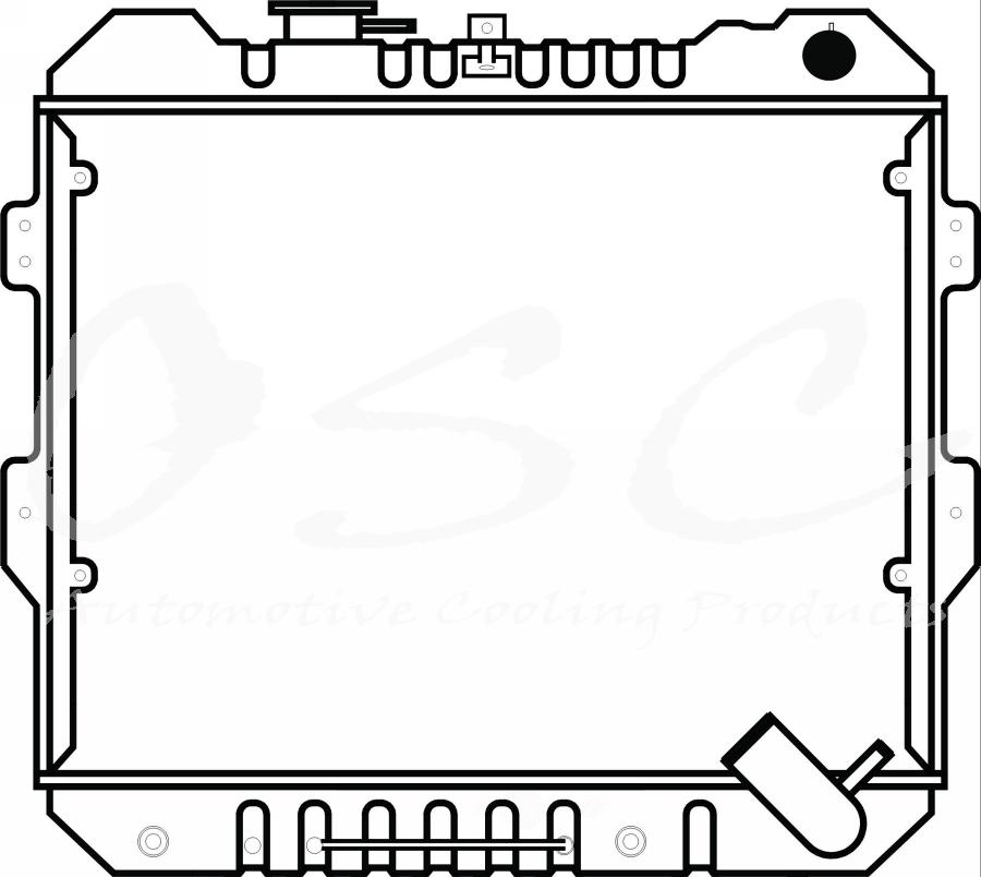 OSC - Radiator - O19 97