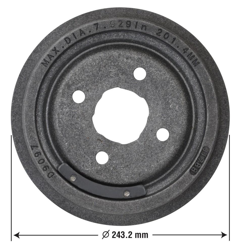OMNIPARTS - Brake Drum - OM1 13034001