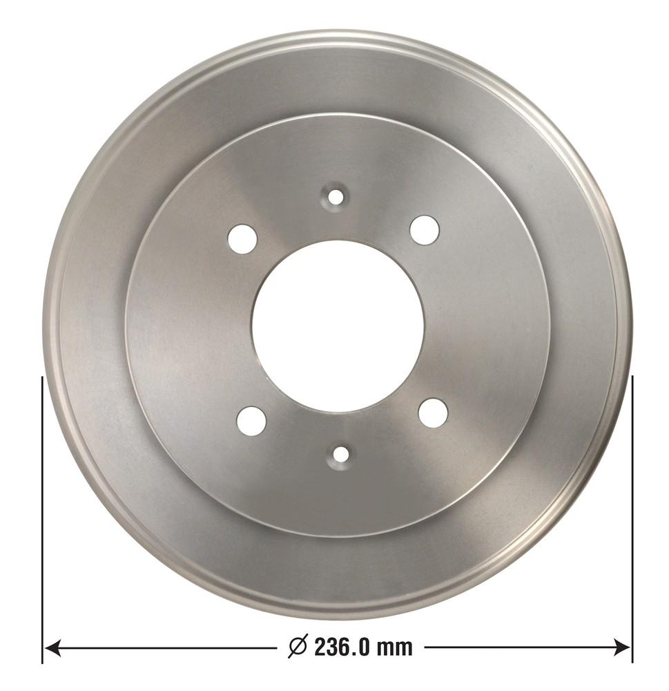 OMNIPARTS - Brake Drum - OM1 13030004
