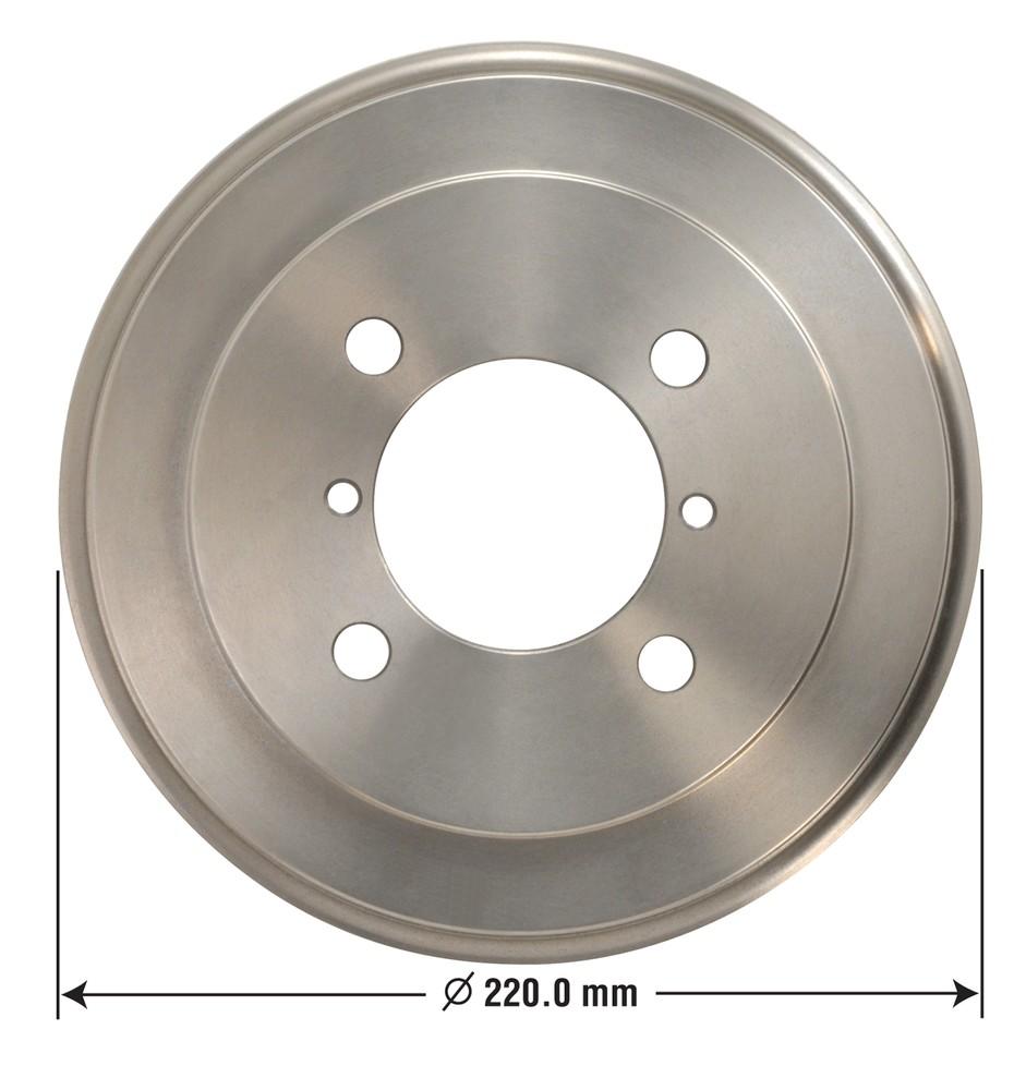 OMNIPARTS - Brake Drum - OM1 13030010