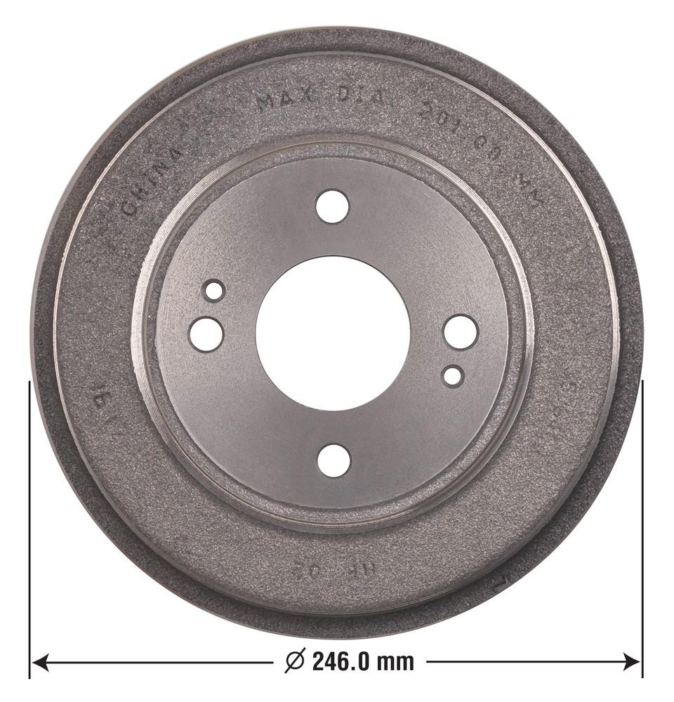 OMNIPARTS - Brake Drum - OM1 13030012