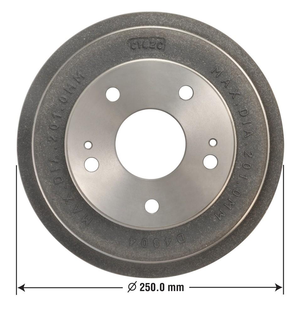 OMNIPARTS - Brake Drum - OM1 13030013