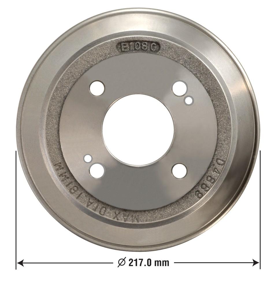 OMNIPARTS - Brake Drum - OM1 13030014