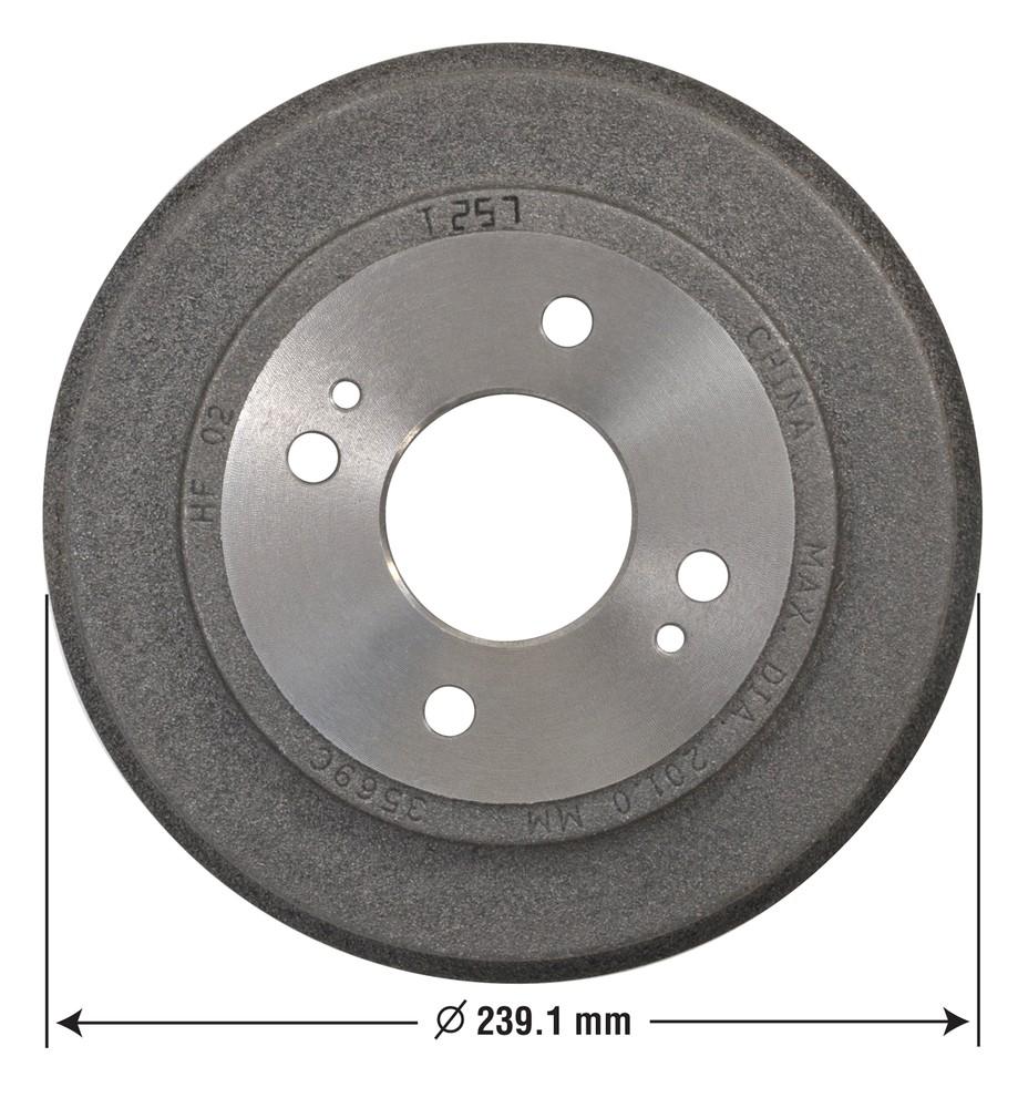 OMNIPARTS - Brake Drum - OM1 13030016