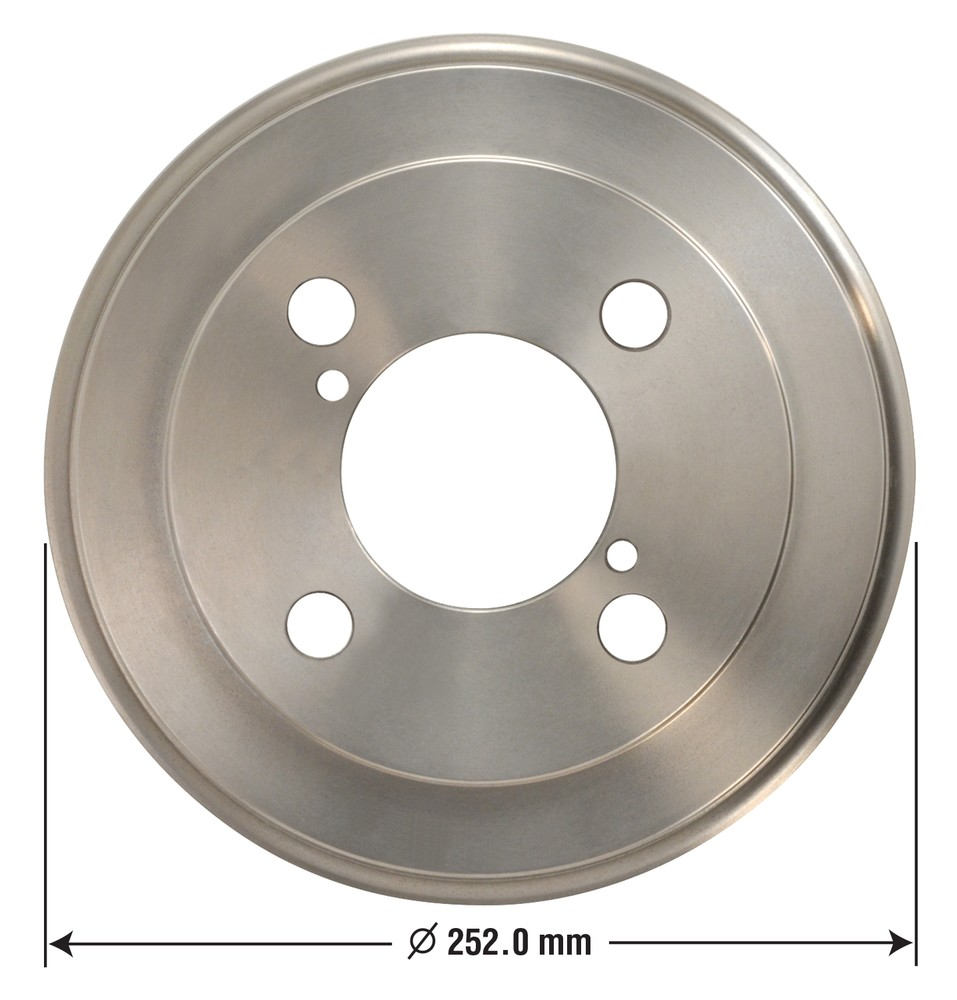 OMNIPARTS - Brake Drum - OM1 13030020
