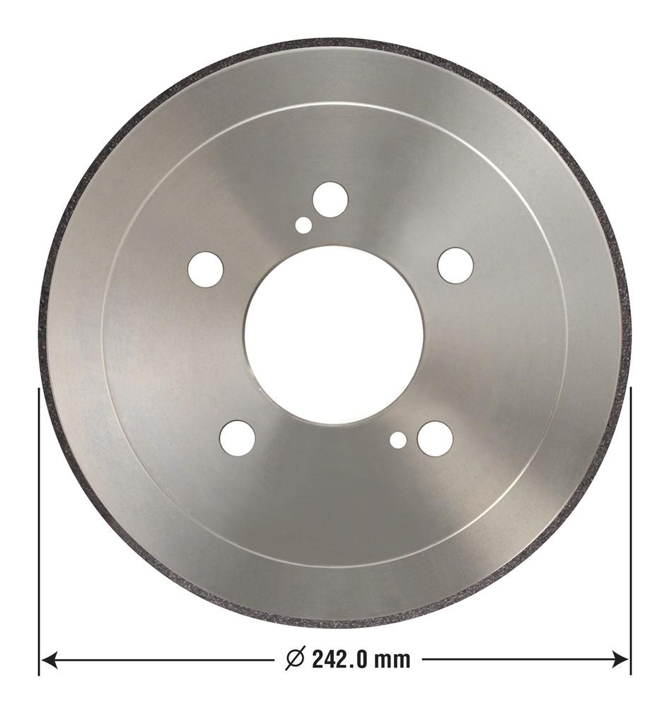 OMNIPARTS - Brake Drum - OM1 13030022