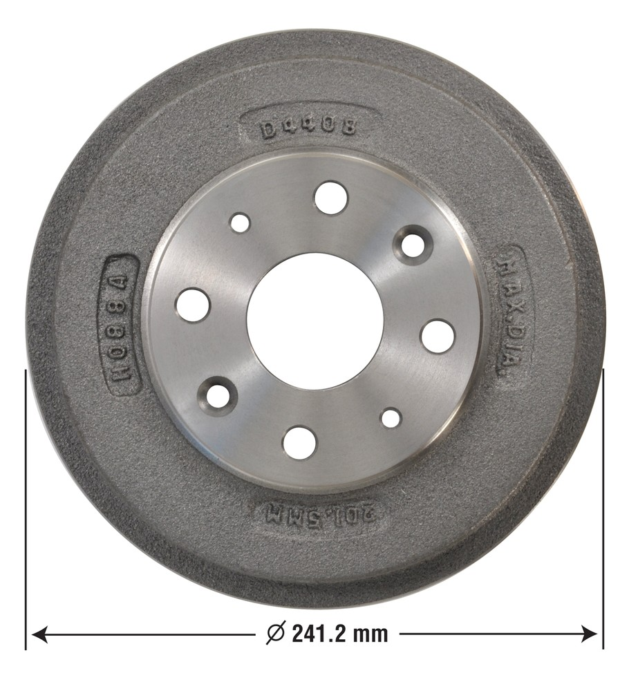 OMNIPARTS - Brake Drum - OM1 13030031