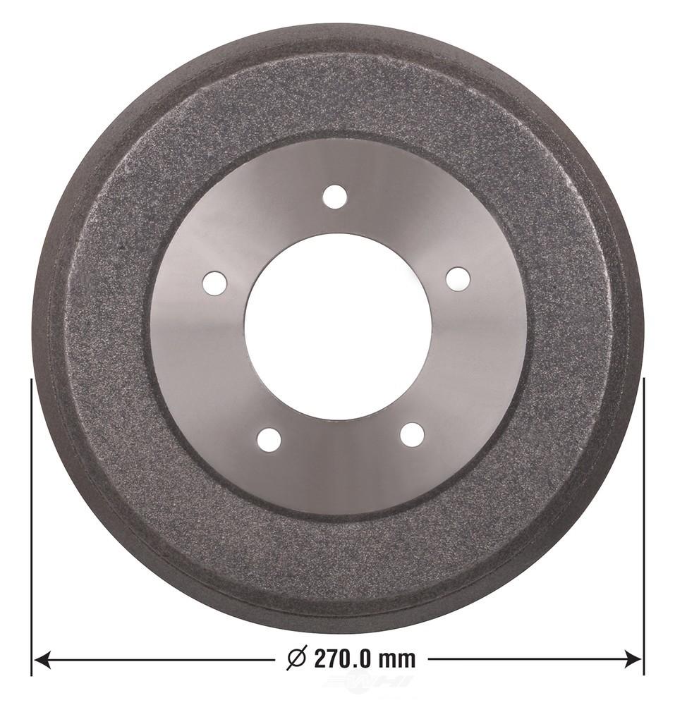OMNIPARTS - Brake Drum (Rear) - OM1 13034080