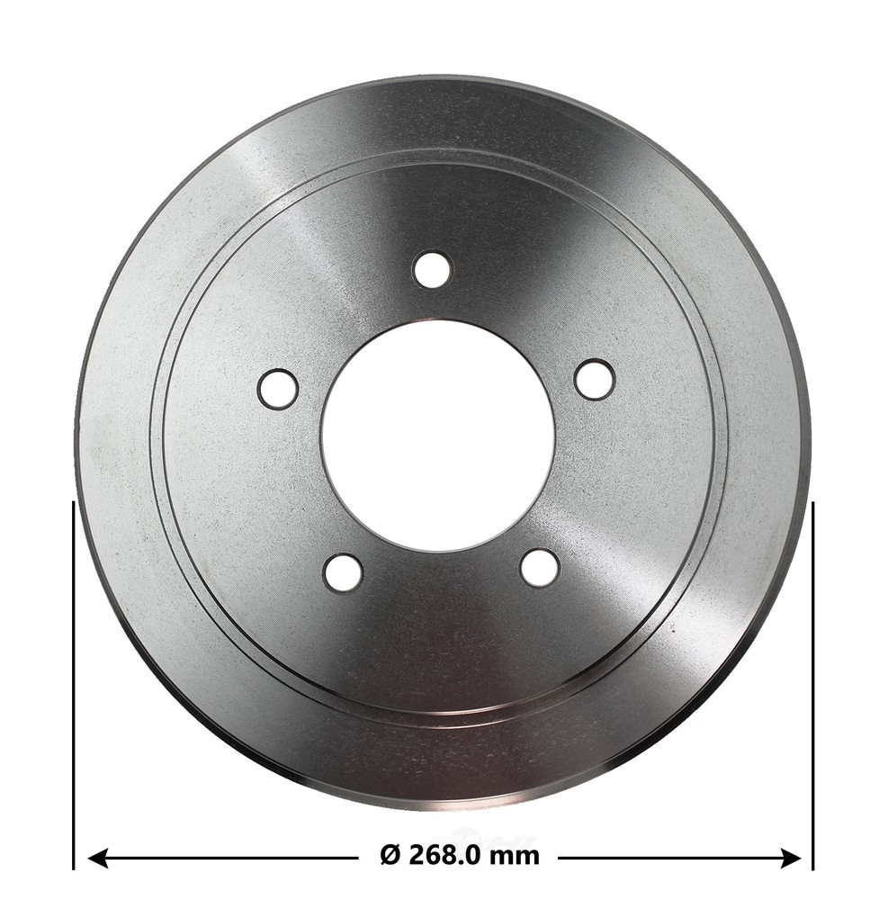 OMNIPARTS - Brake Drum - OM1 13034084