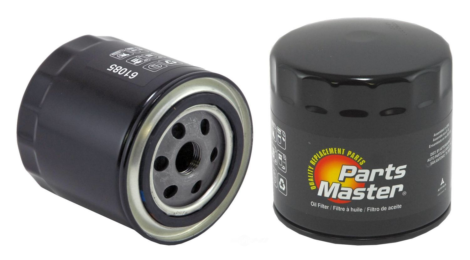 PARTS MASTER/WIX - Engine Oil Filter - P91 61085