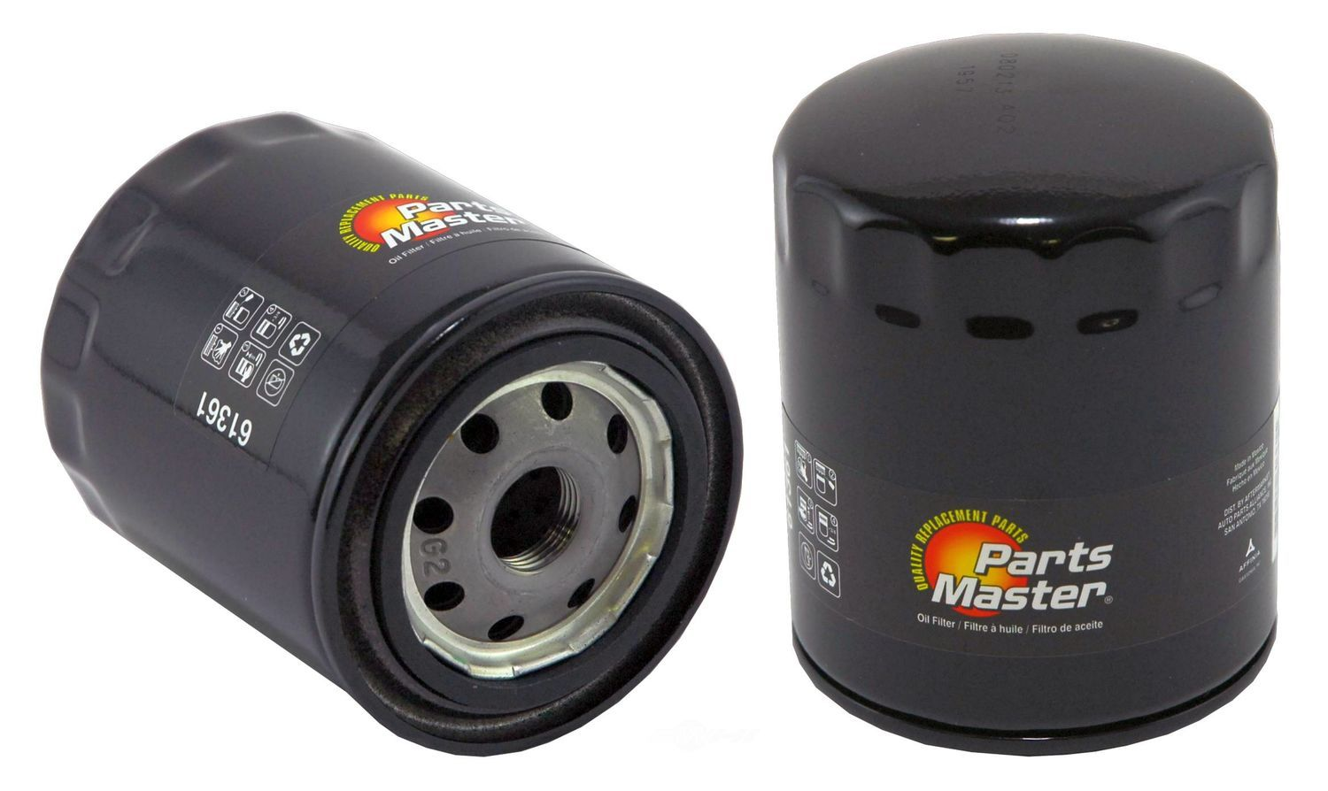 PARTS MASTER/WIX - Engine Oil Filter - P91 61361