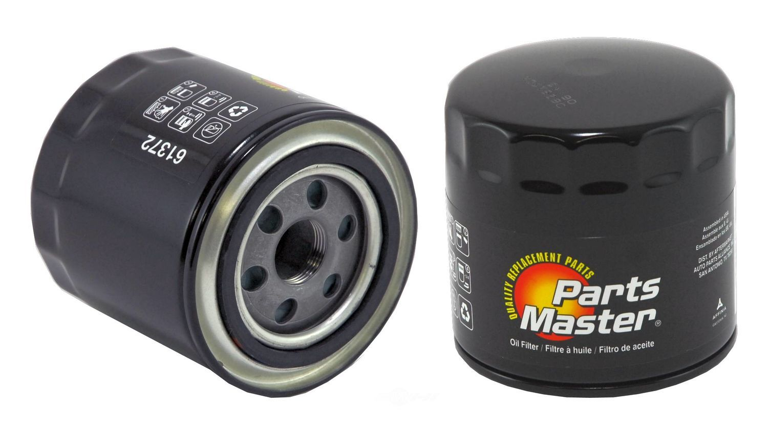 PARTS MASTER/WIX - Engine Oil Filter - P91 61372