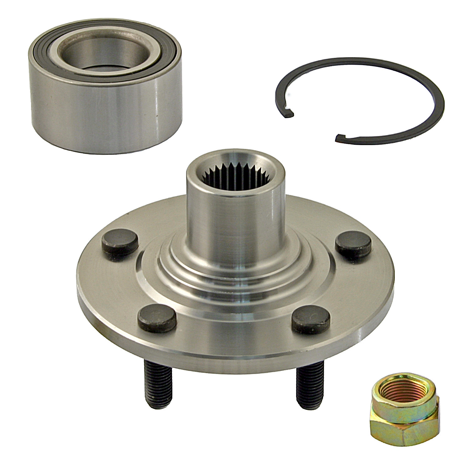 PARTS PLUS BEARINGS & SEALS - Wheel Bearing and Hub Assembly (Front) - P94 P520100