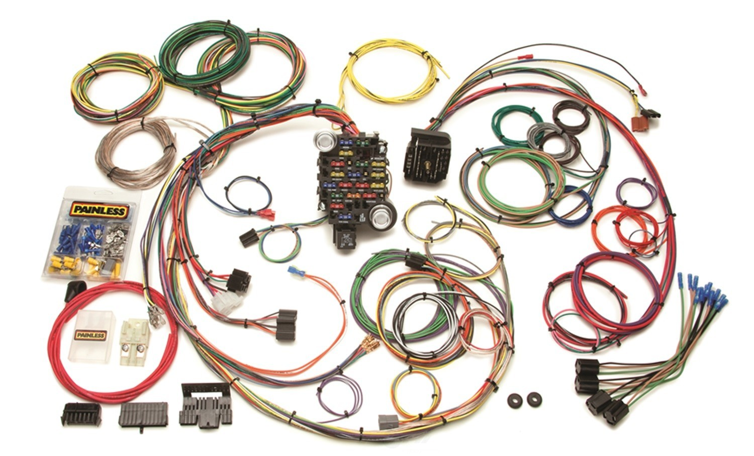 PAINLESS WIRING - 25 Circuit Classic-Plus Customizable Chassis Harness - PAI 20102