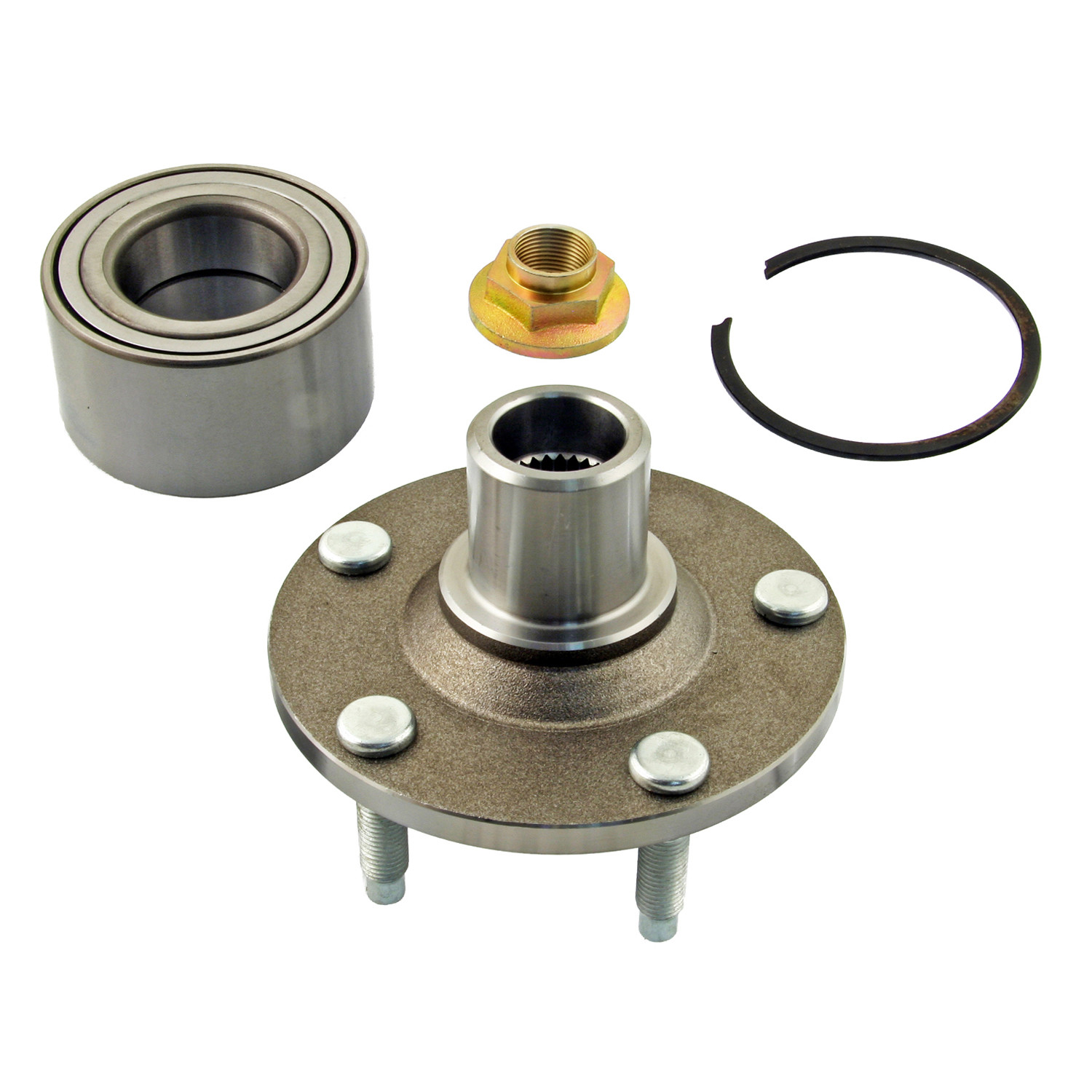 PRECISION AUTOMOTIVE INDUSTRIES - Wheel Bearing and Hub Assembly (Front) - PAU 518515