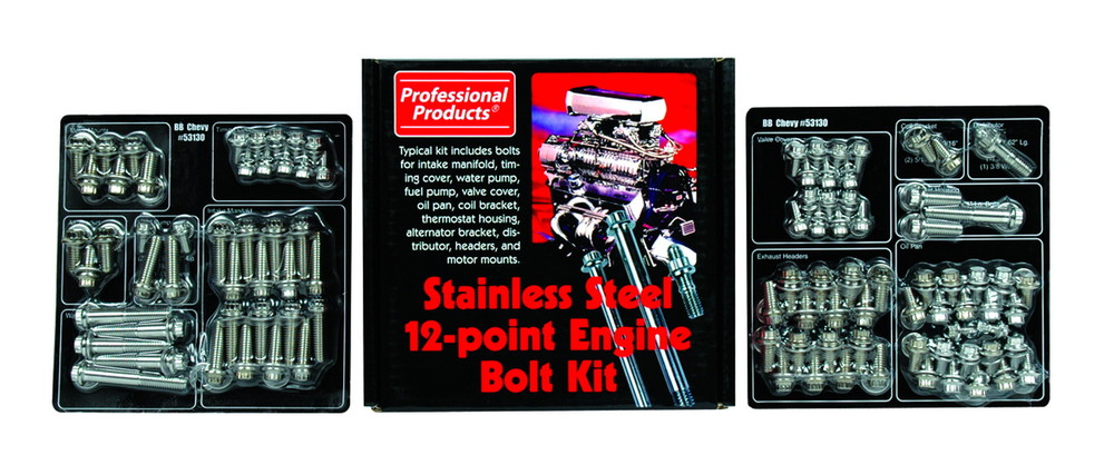 PROFESSIONAL PRODUCTS - Engine Bolt Kit - PF2 53130