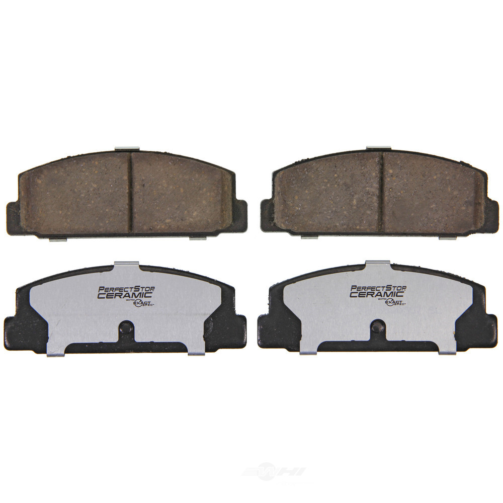 PERFECT STOP CERAMIC FRICTION - Ceramic Disc Brake Pad - PFD PC482A