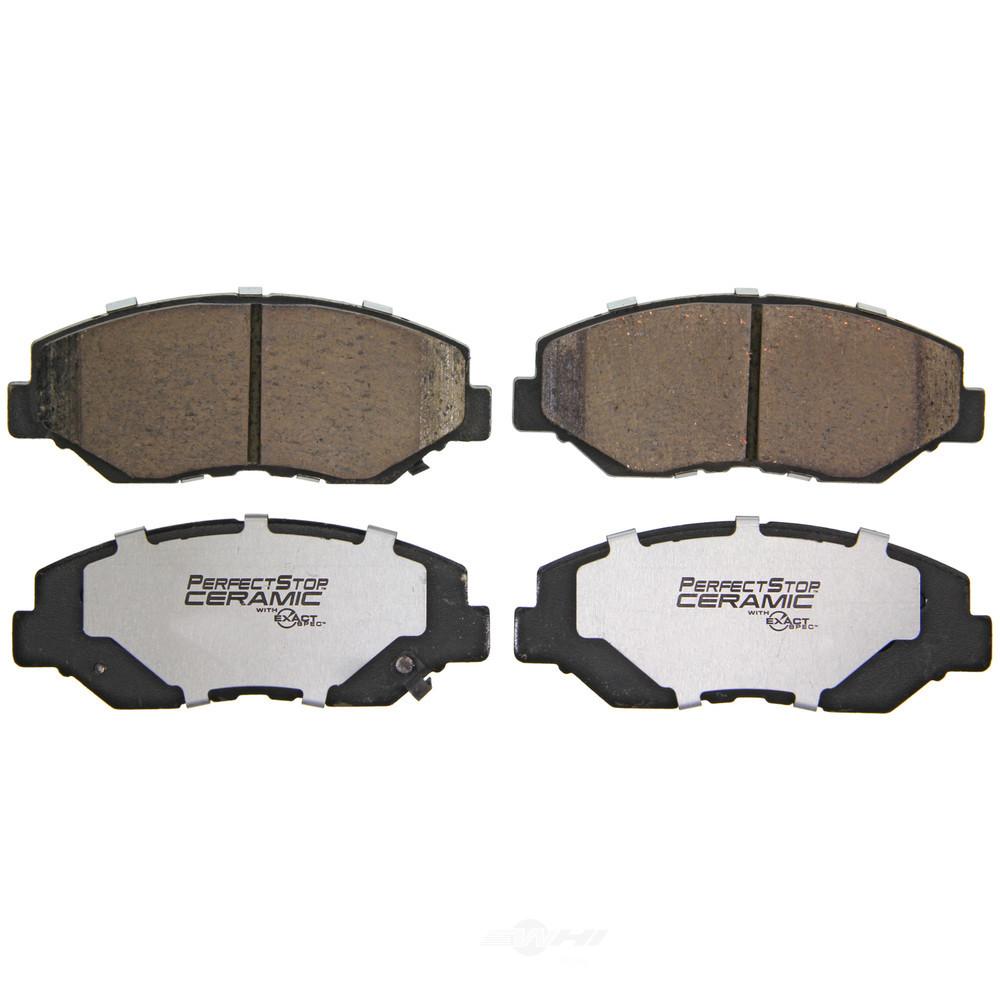 PERFECT STOP CERAMIC FRICTION - Ceramic Disc Brake Pad - PFD PC914