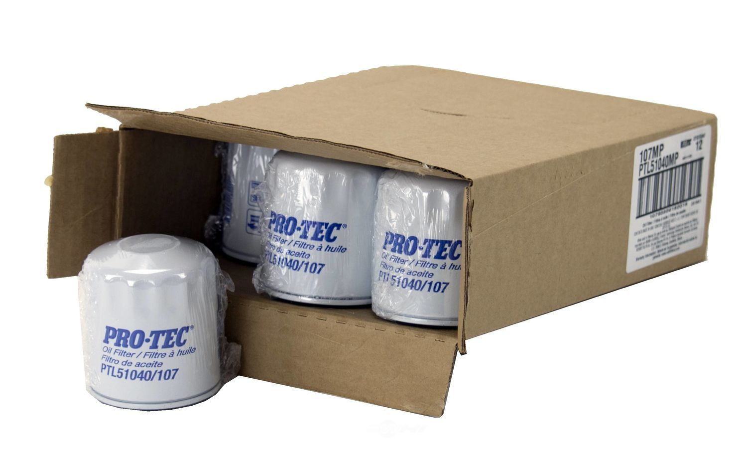 PRO TEC FILTERS BY WIX - Engine Oil Filter - PFW PTL51040MP