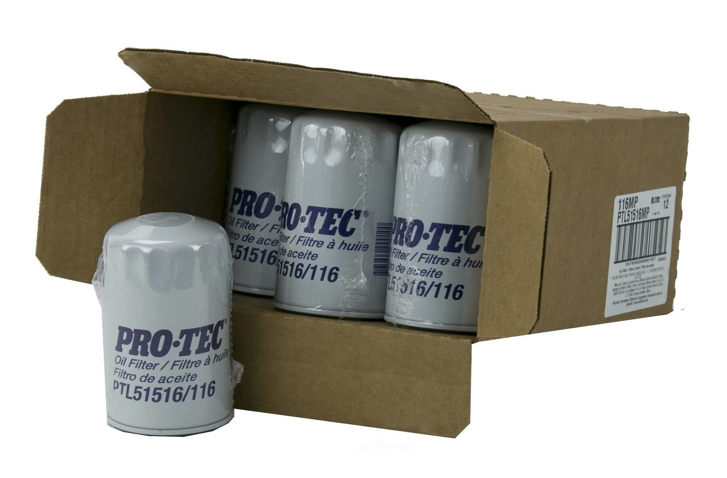 PRO TEC FILTERS BY WIX - Engine Oil Filter - PFW PTL51516MP