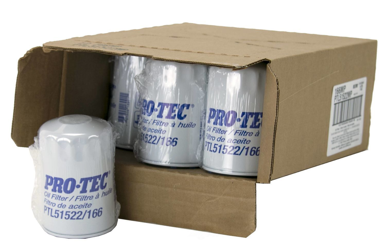 PRO TEC FILTERS BY WIX - Engine Oil Filter - PFW PTL51522MP