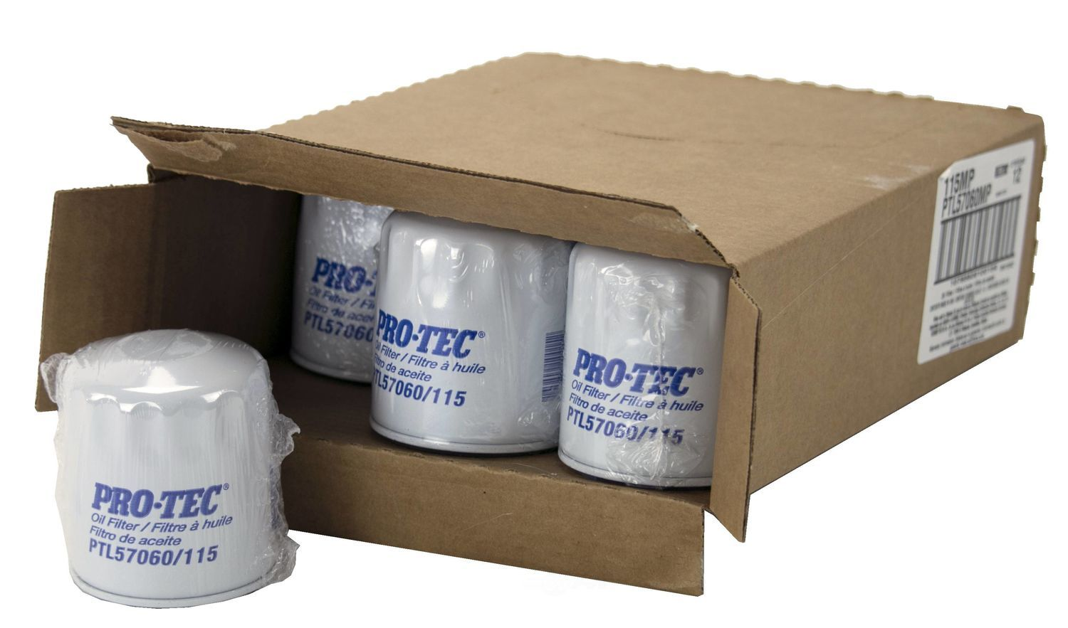 PRO TEC FILTERS BY WIX - Engine Oil Filter - PFW PTL57060MP