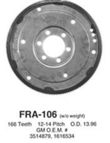 PIONEER INC. - Flexplate - PIO FRA-106
