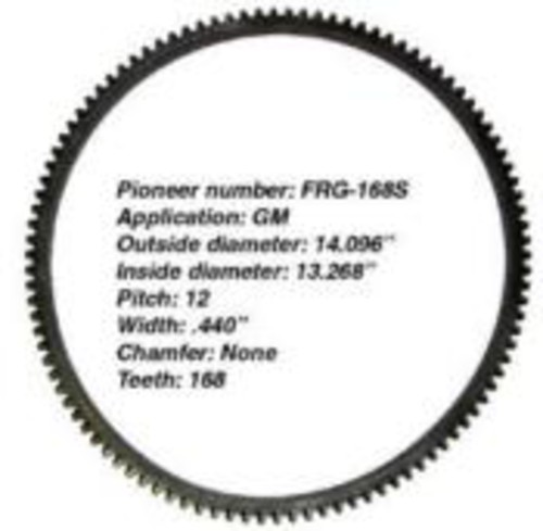 PIONEER INC. - Flywheel Ring Gear - PIO FRG-168S