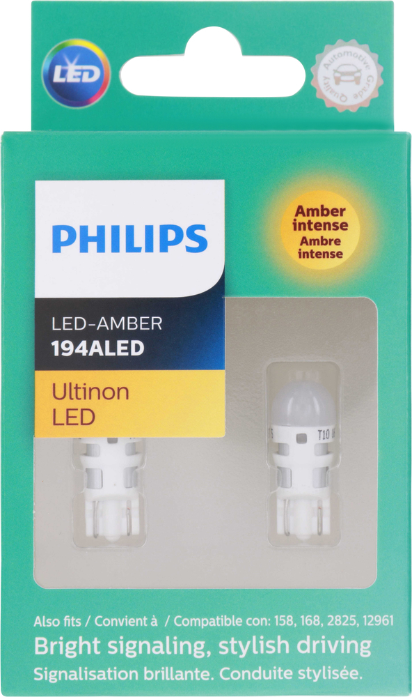 PHILIPS LIGHTING COMPANY - Ultinon Led - Amber (Front) - PLP 194ALED