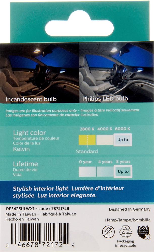 PHILIPS LIGHTING COMPANY - Ultinon Led - White - PLP DE3425WLED
