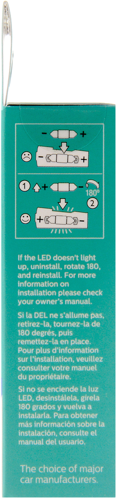 PHILIPS LIGHTING COMPANY - Ultinon Led - Blue - PLP 6418BLED