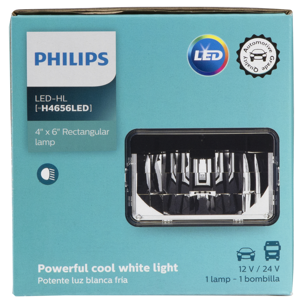 PHILIPS LIGHTING COMPANY - LED Integral Beam (Low Beam) - PLP H4656LED