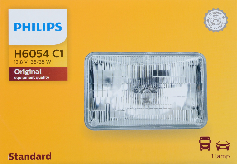 PHILIPS LIGHTING COMPANY - Standard - Single Commercial Pack - PLP H6054C1