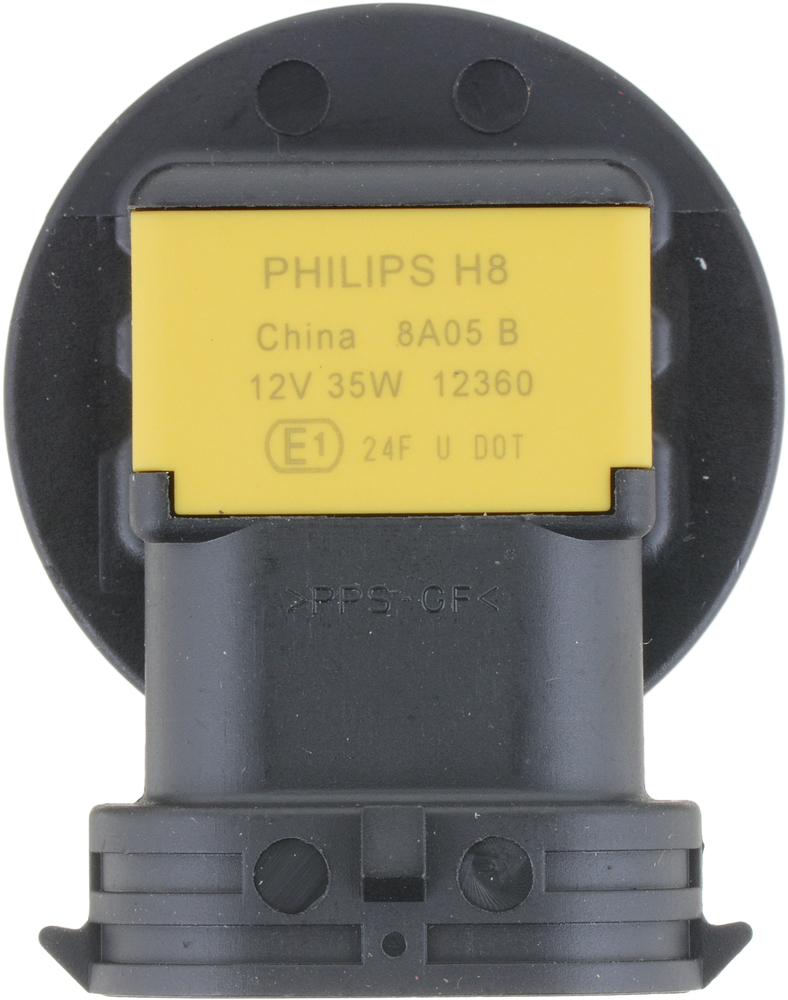 PHILIPS LIGHTING COMPANY - Standard - Single Commercial Pack (Front) - PLP H8C1