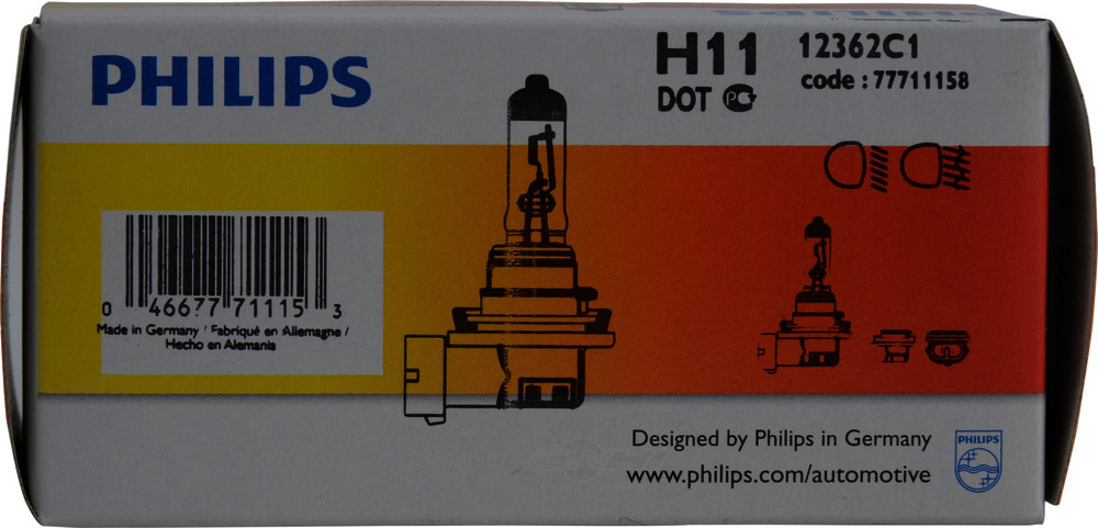 PHILIPS LIGHTING COMPANY - Standard - Single Commercial Pack (Front) - PLP 12362C1