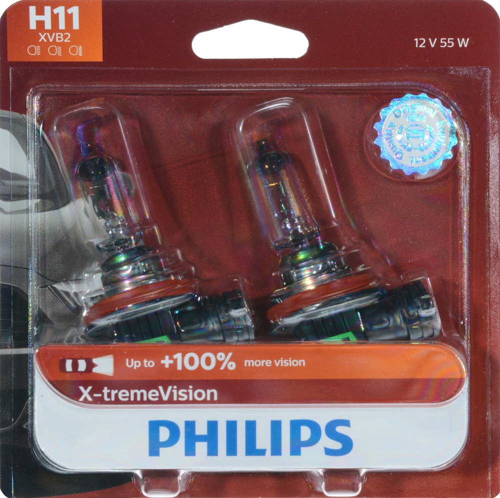 PHILIPS LIGHTING COMPANY - X-treme Vision - Twin Blister Pack - PLP 12362XVB2