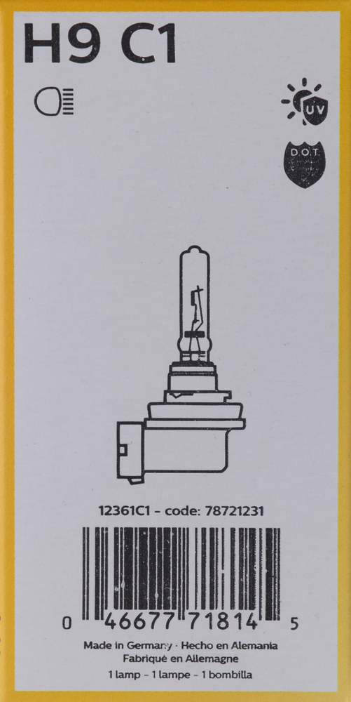 PHILIPS LIGHTING COMPANY - Standard - Single Commercial Pack - PLP H9C1
