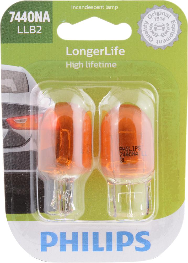 PHILIPS LIGHTING COMPANY - Longerlife - Twin Blister Pack - PLP 7440NALLB2