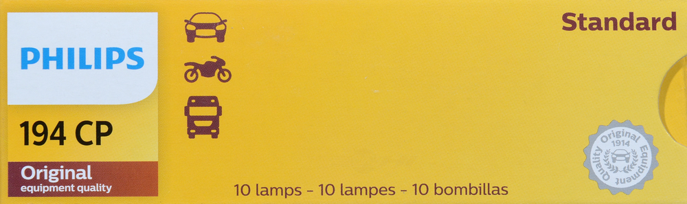 PHILIPS LIGHTING COMPANY - Standard - Multiple Commercial Pack - PLP 194CP