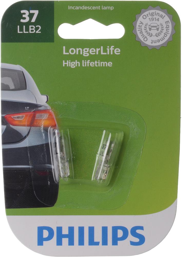 PHILIPS LIGHTING COMPANY - Longerlife - Twin Blister Pack - PLP 37LLB2