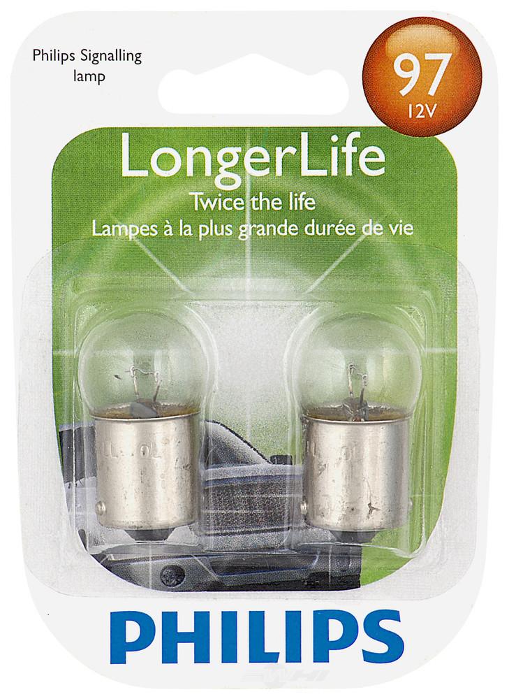 PHILIPS LIGHTING COMPANY - LongerLife - Twin Blister Pack - PLP 97LLB2
