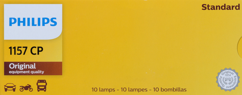 PHILIPS LIGHTING COMPANY - Standard - Multiple Commercial Pack - PLP 1157CP